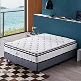 Jacia  House 11.4 Inch Pillow Top Memory Foam Innerspring Independently Encased Coil Mattress, Full