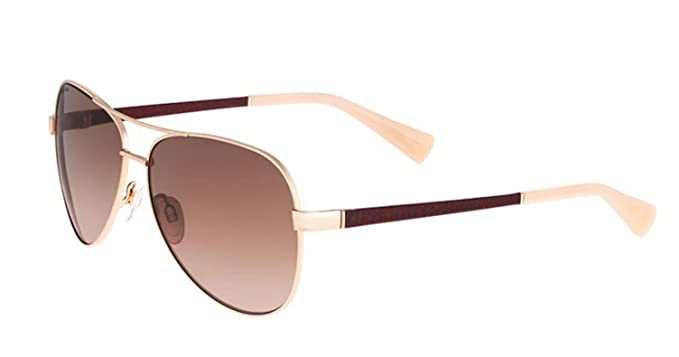 e3008eeebb9 Image Unavailable. Image not available for. Color  COLE HAAN Sunglasses  CH7000 780 Rose Gold 59MM