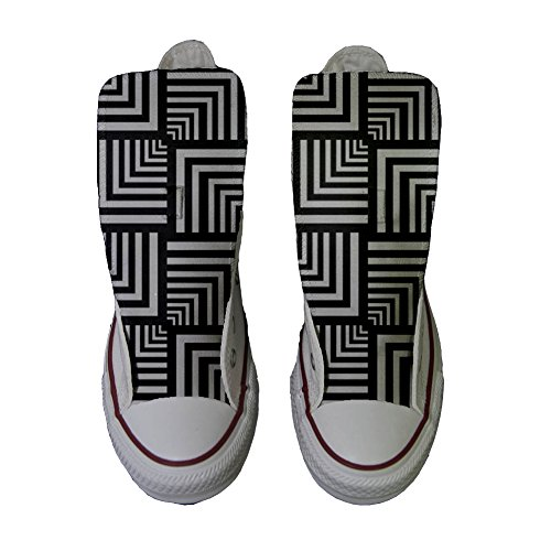 Mys Artisanal Chaussures Coutume Customized produit Adulte Converse Geometric qqZ8g