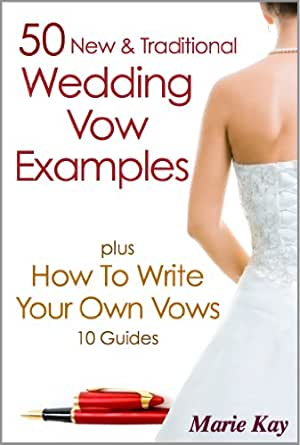 50 new traditional wedding vow examples plus how to write your print list price 699 junglespirit Choice Image