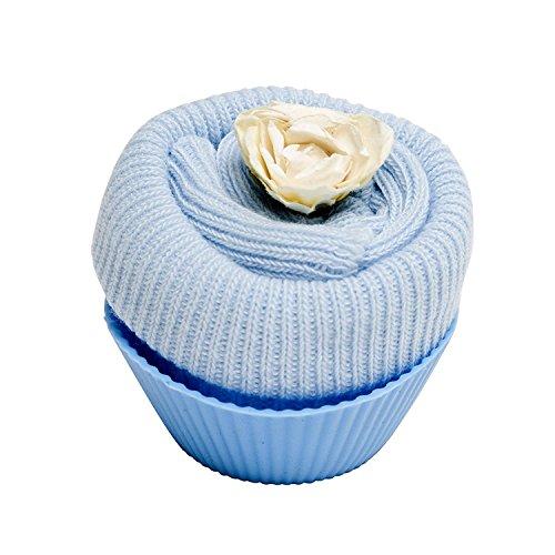 Diseño Pastel de Hadas - Calcetínes de bebé - Azul