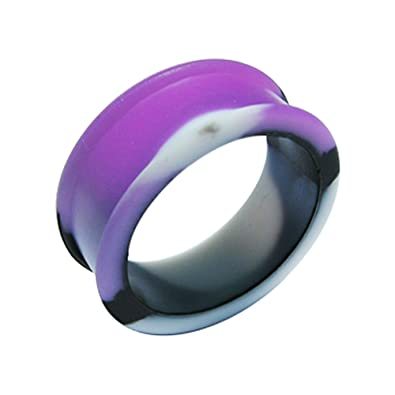 Monster Piercing 14MM couleur Changeable à mauve soleil Silicone en ...