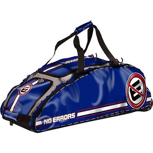 Dinger Bats - No Errors Dinger Wheeled Bat Bag (Royal)