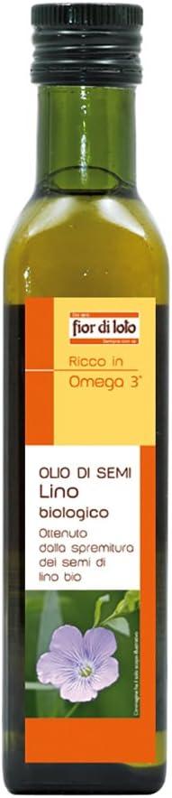 ( 2579 ) IL FIOR DI LOTO OLIO SEMI LINO 250ML 2053