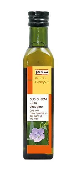 Fior di Loto Olio di Semi di Lino - 250 ml: Amazon.it: Alimentari ...