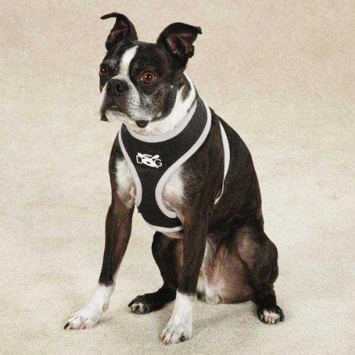 UPC 721343609735, Dog is Good Halo Dog Harness, Small, Black