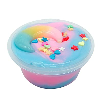 60ML Beautiful Color Mixing Cloud Slime Putty Scented Stress Kids Clay Toy, Toys St. Patrick Easter Gifts : Sports & Outdoors