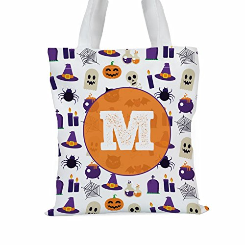 Halloween Themed Custom Large Trick or Treat Tote Bag