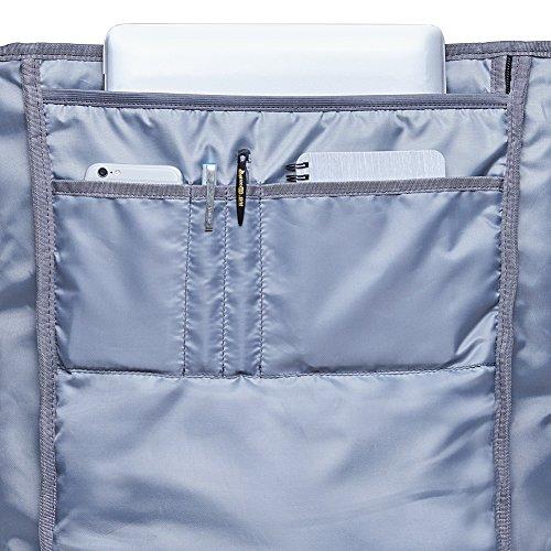 KAUKKO Casual Daypacks&multipurpose backpacks,Outdoor Backpack,Travel Casual Rucksack,Laptop Backpack Fits 15'' (04black) by KAUKKO (Image #9)