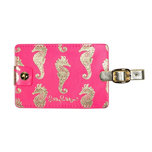 Lilly Pulitzer Girls' Luggage Tag K, Horsin Around, 0 M US Infant - Lilly Pulitzer Infant
