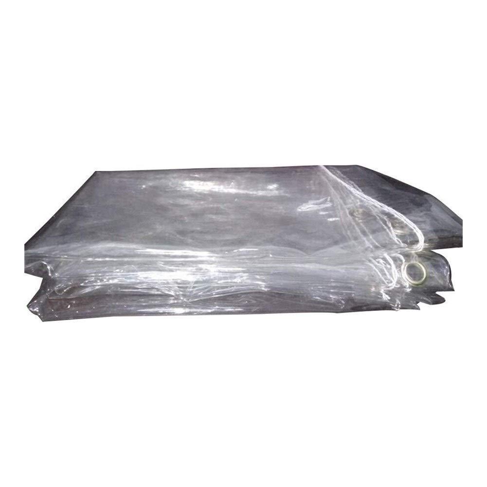 Clear 2x4m Wangcfsb Pare-Brise de Balcon Anti-vieillisseHommest en Verre Doux de PVC Souple épais Transparent de Tissu imperméable (Couleur   Clear, Taille   1.4x3m)