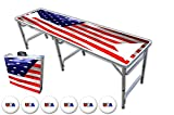 8-Foot Professional Beer Pong Table w/ Triangles - Over 30 Graphics to Choose From