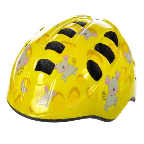 Fisher-Price V15 Helmet, Cheese Head Yellow, Small