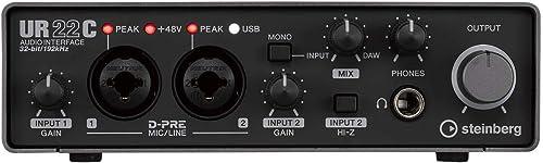 スタインバーグ Steinberg USB3.0 オーディオインターフェイス UR22C