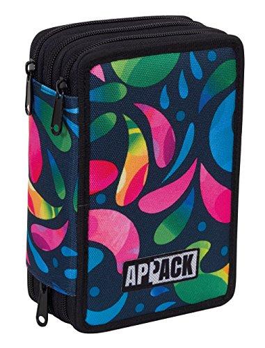 Estuche Escolar 3 Pisos - APPACK - Multi Compartimentos con ...