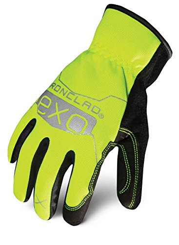 (Ironclad EXOT-PSUY-05-XL Tactical Public Safety Utility Glove, X-Large, Yellow)