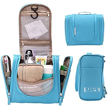 Hanging Toiletry Bag Water Resistant with Mesh Pockets Travel Shower Bag 8800Lan