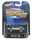 Back to the Future - 1955 Time Machine Back to the Future Part III Hot Wheels 2015 Retro Series 1/64 Die Cast Vehicle by Hot Wheels