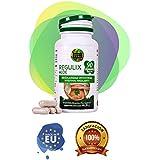 Détox d'Aloe Vera pour le nettoyage du côlon - Détox naturel pour détoxifier le corps - Complément alimentaire végétal adapté à la consommation quotidienne - 90 capsules