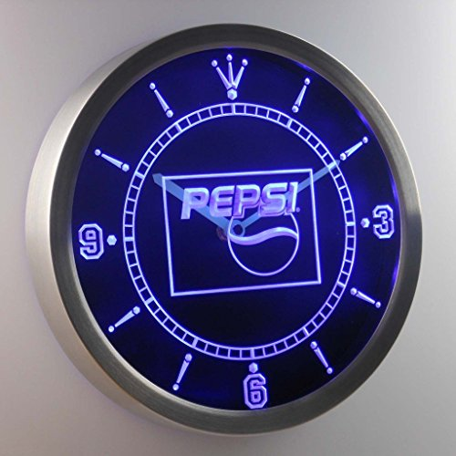 Pepsi Cola Drink 3D Neon Sign LED Wall Clock NC0095-B