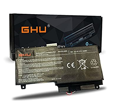 new GHU Battery 43WH PA5107U-1BRS for Toshiba L45D L50 L55-A L55t-A P50-A P55 P55T S55-A S55t-A Series Laptop P000573230 For Toshiba Satellite P50-a L50 L50-a L55t Li-Polymer 14.4V/2838mAh/43WH by GHU