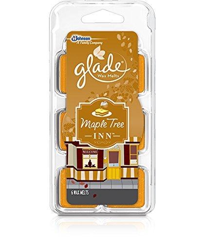Johnson Glade Wax Melts Maple Tree Inn, 6 Count, 2.3 ounces