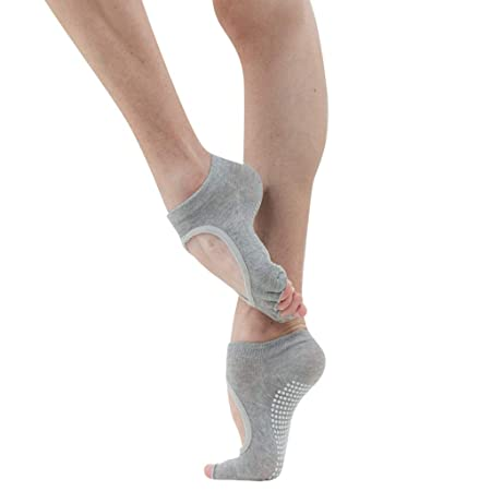 Calcetines de yoga Calcetines Antideslizantes for Mujeres ...