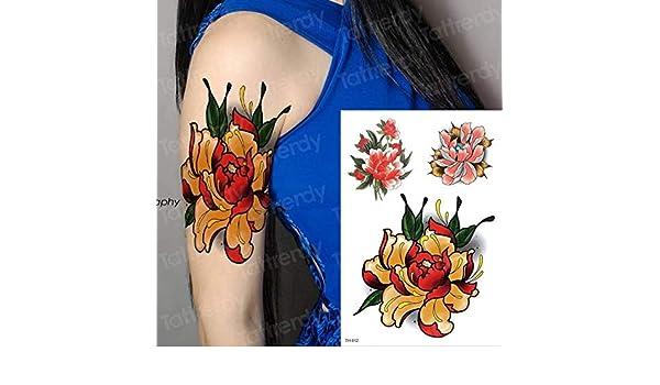 tzxdbh 3 Unids-Etiqueta Engomada del Tatuaje Temporal Peces ...
