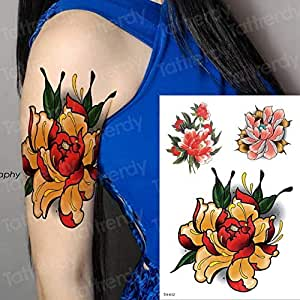 Handaxian 3pcs-Tattoo Animal Tatuaje de la Etiqueta engomada ...