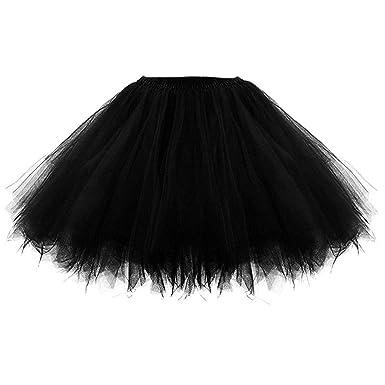 Hink Disfraz de tutú elástico para niñas Beige Negro (Talla única ...