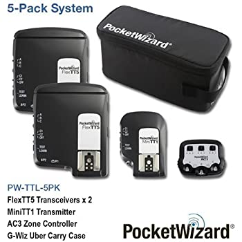 PocketWizard TTL Wireless Radio 5 Pack for Canon