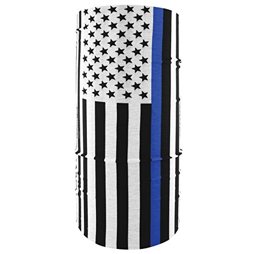 - Zanheadgear T159 One Size Polyester (Thin Blue Line Motley Tube)