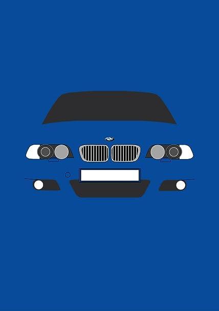 BMW E46 M3 - Tarjeta de felicitación Retro Motor Company