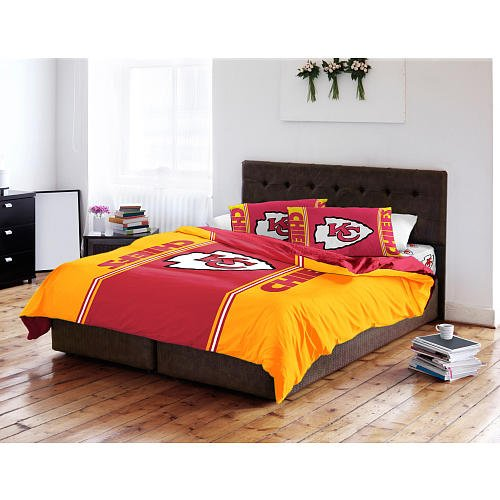Chiefs Comforter City Kansas (NFL Twin/Full Printed Comforter Kansas City Chiefs by Northwest)