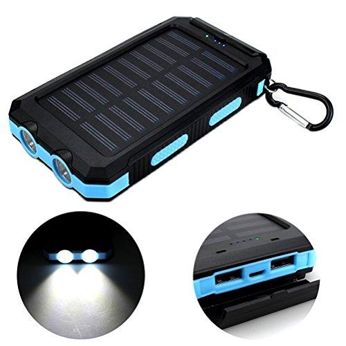ukcoco-universal-waterproof-8000mah-solar-power-bank-dual-usb-ports-portable-charger-with-compass-led-lighting-for-phoneblue