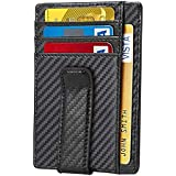 Beartwo RFID-Blocking Money Clip Wallets for men