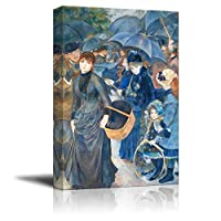 Wall26 - The Umbrellas by Pierre-Auguste Renoir - Canvas Print Wall Art Famous Oil Painting Reproduction