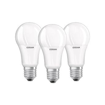 Osram 819559 Bombilla LED E27, 14 W, Blanco Frío 3 Unidades