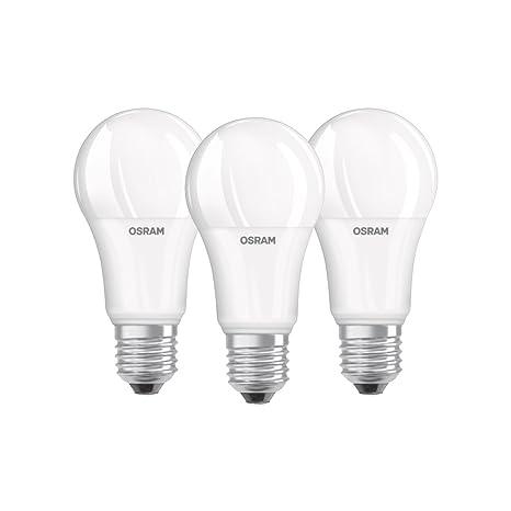 Osram 819412 Bombilla LED E27, 14 W, Blanco, 3 Unidades