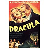 Dracula A Nightmare Of Horror Movie Film Classic Poster 12x18