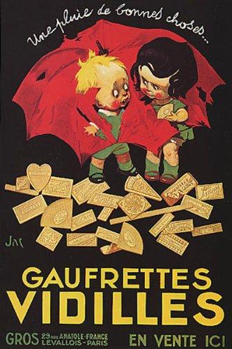 Gaufrettes Vidilles Waffle Kids Torn Umbrella Rain Of Good Things French Food Image Size