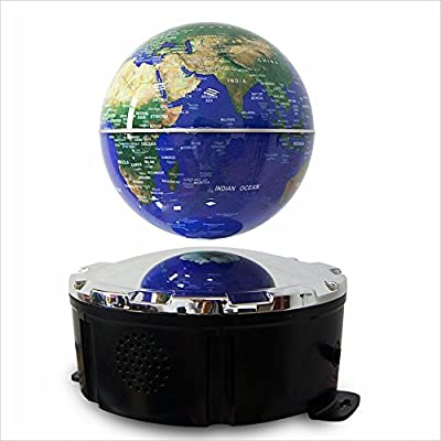 Stereo Surround Portable Levitating/Maglev Speaker,2.1+EDR Floating Bluetooth ABS Plastic Speaker for Home Office BT-F5