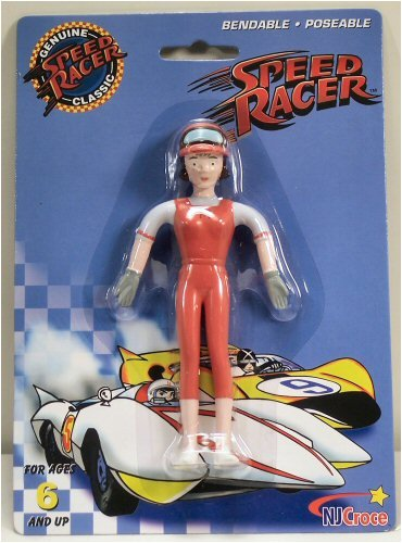 Speed Racer Classics Trixie Bendable Poseable (Japanese Speed Racer)