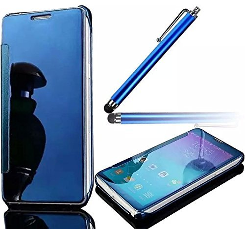 Samsung Galaxy S8 Plus Funda, Vandot Hybrid Diseño 3 en 1 Cáscara Dura de la PC Recubrimiento Metálico Marco Chapado Matte de Lujo Hard Caja de Telefono Protección Cubierta Case Cover para Samsung Gal Flip Cielo Azul