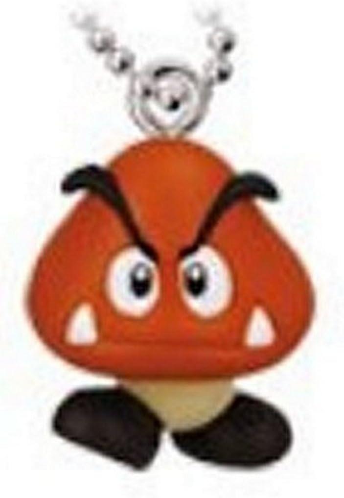 New Super Mario Soft Mascot Keychain Charm Goomba