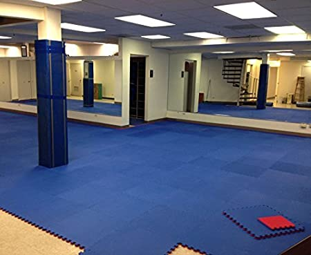 Jumbo Soft Interlocking Foam Tiles IncStores p90x Cardio Gymnastics Perfect for Martial Arts MMA and Exercise Lightweight Home Gyms