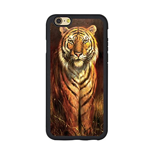 Andenley Tiger Phone Case Premium Durable Scratch-Resistant TPU Material Protective Back Cover, Tiger iPhone Case Design Fit iPhone 5/5s/SE, 6/6s, 6P,7/8,7P/8P (iPhone 6/6s)