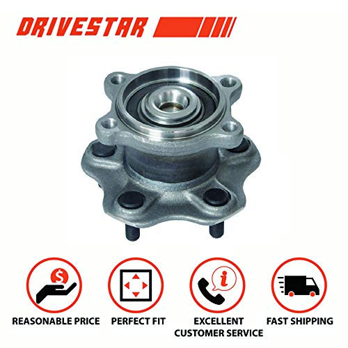 (DRIVESTAR 512292 REAR Wheel Hub & Bearing Assembly Left or Right for Nissan Altima Maxima QUEST)