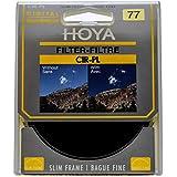 FILTRO POLARIZADOR CIRCULAR SLIM HOYA 77mm, Hoya, Filtros, Preto