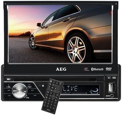 AEG AR 4026 - Radio para coche (DVD/CD, pantalla LCD táctil de 7